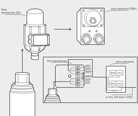 Блок автоматики Джилекс представляет собой устройство, в котором в одном корпусе объединились реле давления и защита...